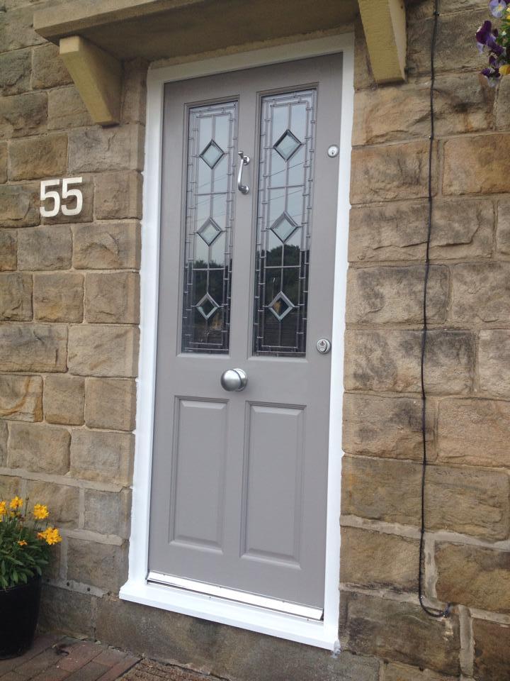 door-on-stone-house