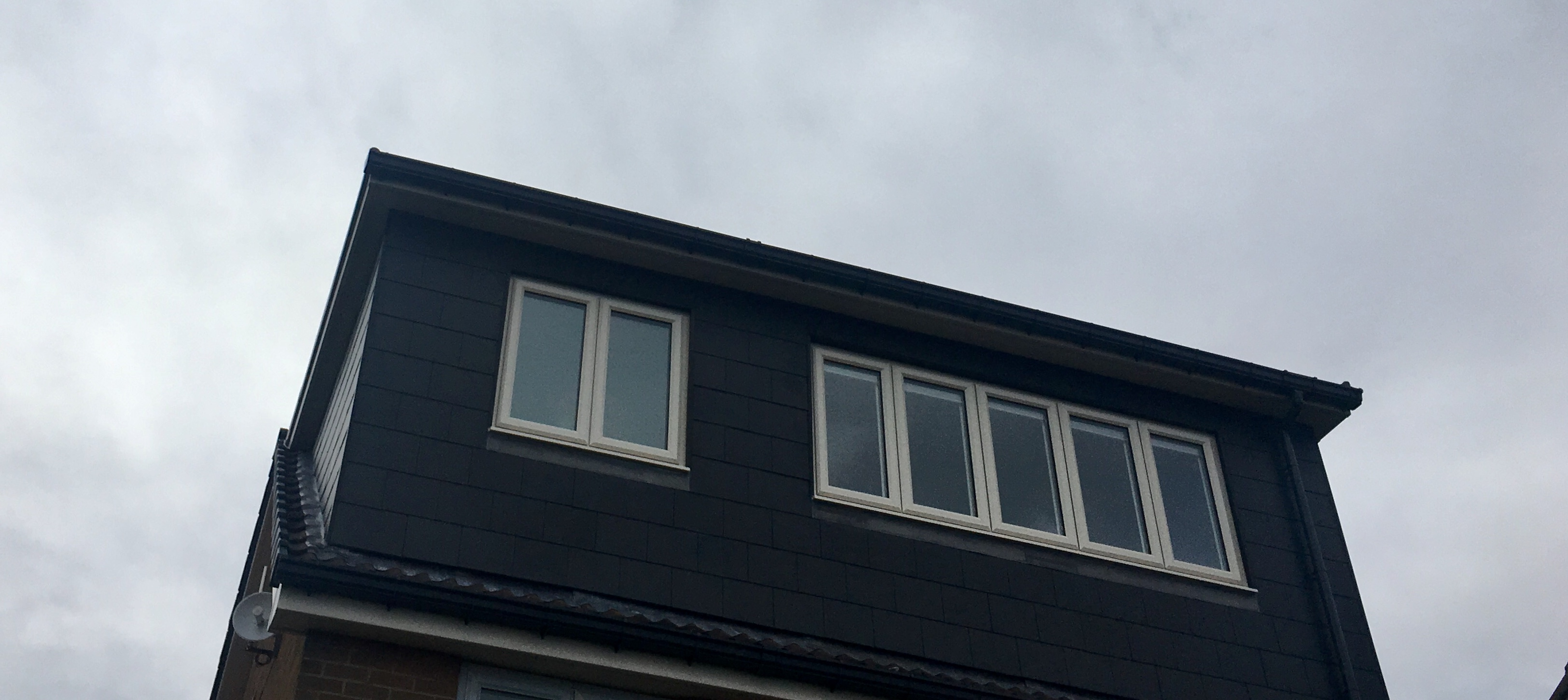roofline conversion example of house