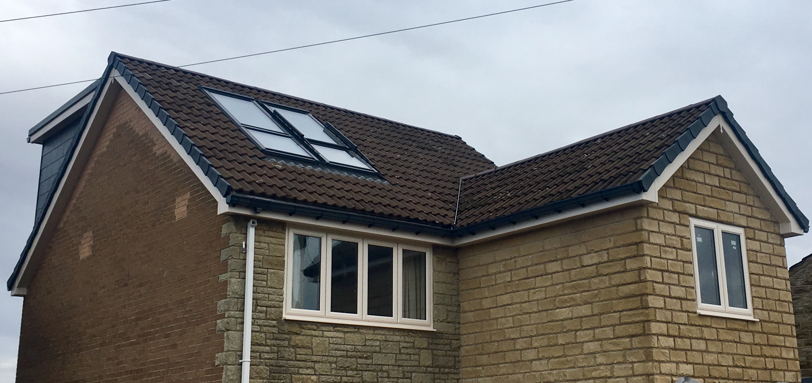 house extension example showing dormer room