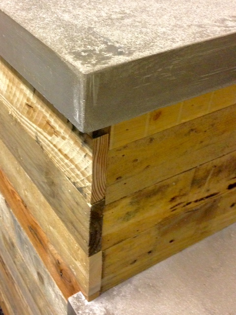 wood-concrete
